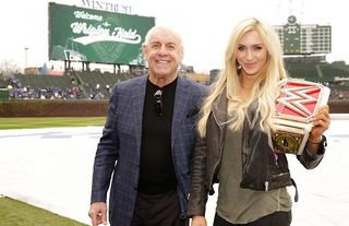 Ric Flair was reportedly unhappy with Charlotte's WWE booking