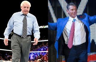 Ric Flair asked Vince McMahon for his release from WWE