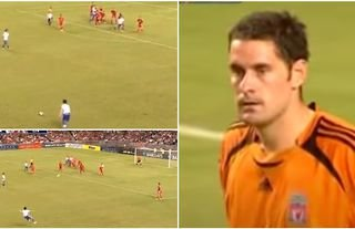South China scored an incredible goal vs Liverpool in 2007