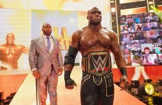 Bobby Lashley was defeated after WWE Raw went off air last night
