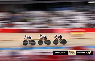 Germany smashed the world record in the women's cycling team pursuit to win Olympic gold