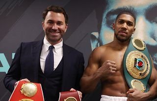 The Matchroom promoter can't believe that Anthony Joshua isn't more highly rated