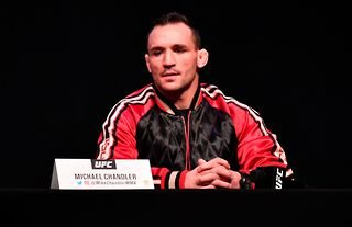 Michael Chandler predicts he will knock out Justin Gaethje at UFC 268 on November 6.