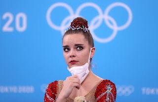 Russian officials felt Dina Averina should have earned an Olympic gold medal in rhythmic gymnastics rather than silver
