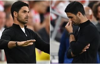 Arsenal manager Mikel Arteta is the favourite to be first Premier League boss sacked this season.