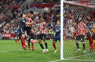Christian Norgaard has scored his first goal for Brentford after failing to score in 59 Championship appearances.