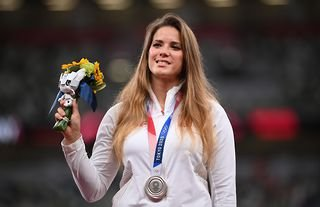 Maria Andrejczyk finished with a silver medal in javelin at the Tokyo 2020 Olympic Games