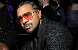 David Haye says he would love to fight Lennox Lewis in the future after his comeback fight against Joe Fournier.