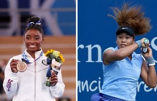 Simone Biles and Naomi Osaka topped SportsPro's list of the most marketable athletes in the world