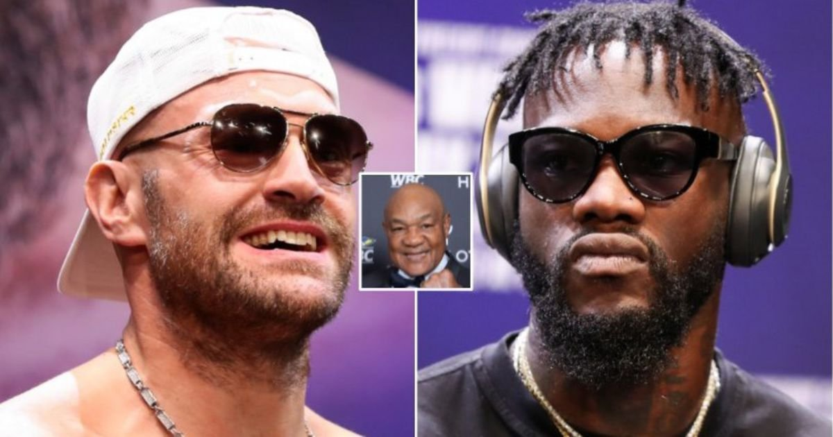 Tyson Fury vs Deontay Wilder 3: George Foreman believes it could be the 'best ever' - GIVEMESPORT