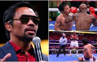 Andre Ward wants Manny Pacquiao to retire from boxing.
