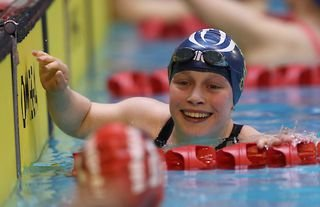 An emotional interview by swimmer Ellie Robinson at the Tokyo 2020 Paralympic Games has gone viral