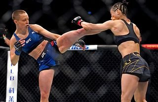 Rose Namajunas' sensational victory in April was Weili Zhang's first defeat in seven years