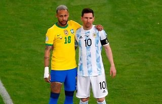 Neymar & Messi - two of the greatest international goal-getters in history