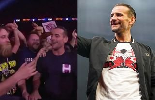 CM Punk reacts to a fan offering him a drink
