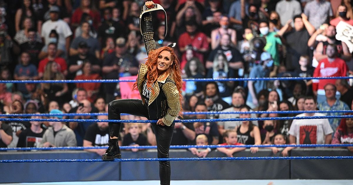 Becky Lynch match added to WWE Extreme Rules 2021 - GIVEMESPORT