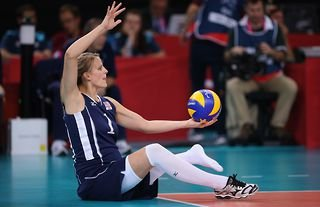 Sitting volleyball player Lora Webster has earned a Paralympic gold medal while five months pregnant