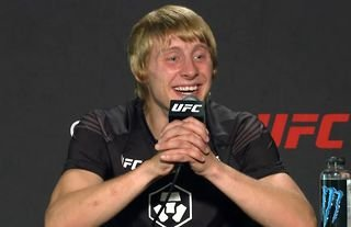 Paddy Pimblett speaks after his UFC debut was marked with a first-round knockout of Luigi Vendramini