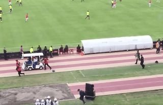 Enner Valencia escaped police after being substitued