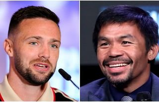 Josh Taylor doesn't see much point in fighting Manny Pacquiao at this stage of his career.
