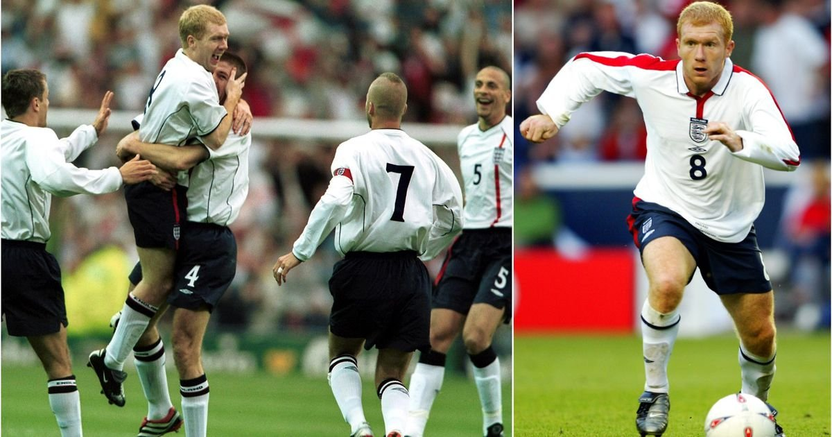 Paul Scholes once received guard of honour from England players after training - GIVEMESPORT