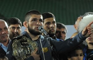 The Eagle gives his verdict on Islam Makhachev's next UFC fight against Rafael dos Anjos.