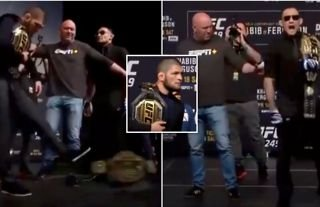 'A reminder that Tony Ferguson was the only person to truly get in Khabib's head'