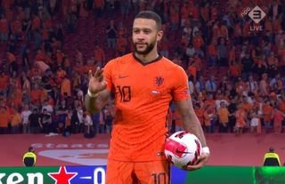 What a performance by Memphis Depay
