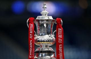 FA Cup trophy for the 2021/22 season