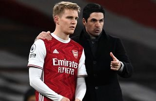 Martin Odegaard is hoping to win the Champions League and Premier League with Arsenal