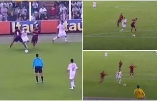 Neymar's goal vs Flamengo was absolutely incredible