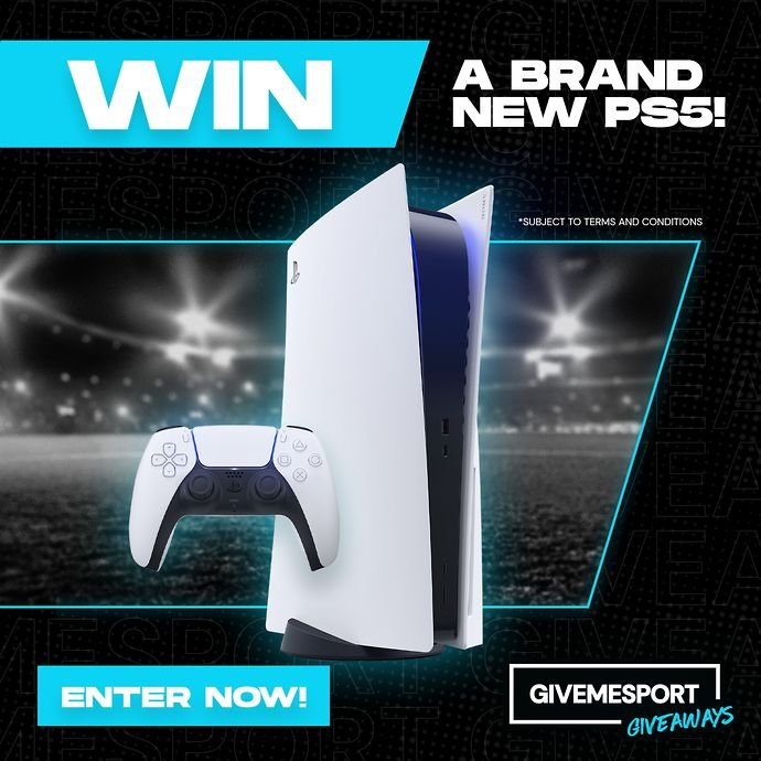 Enter the September contest to win a PS5