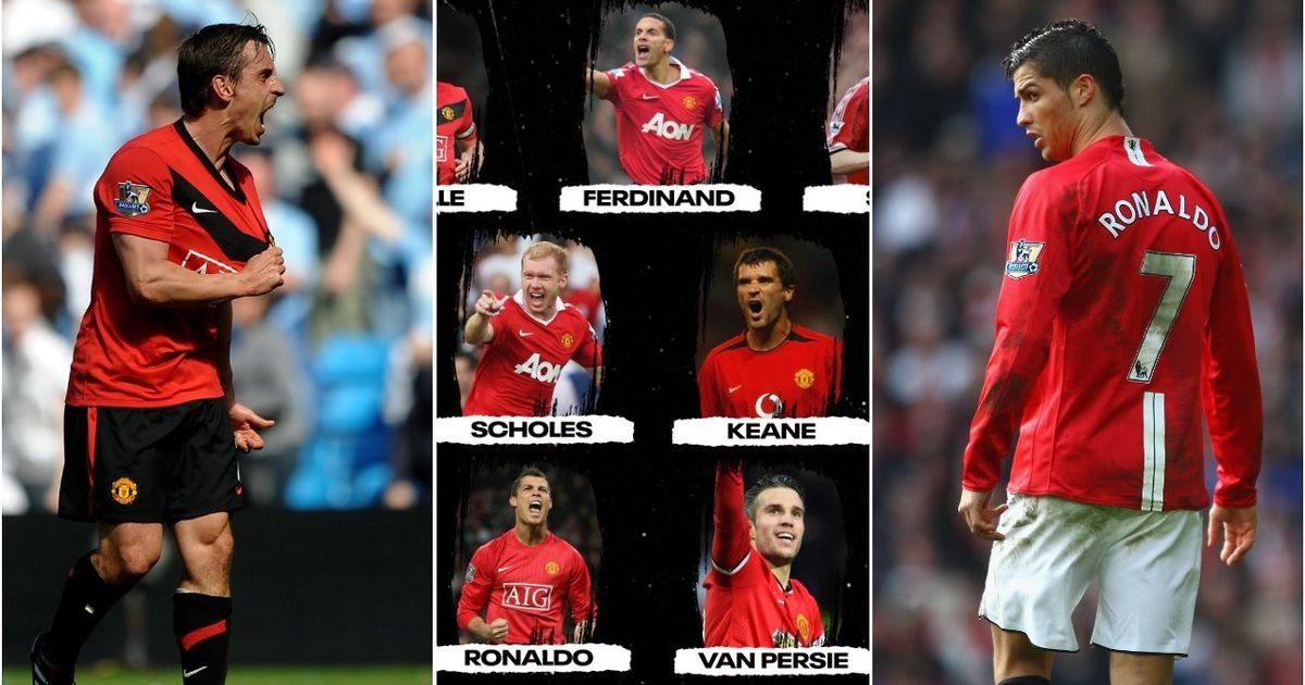 Ronaldo, Rooney, Scholes: Man Utd's all-time Premier League XI has been named - GIVEMESPORT