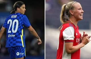 Sam Kerr and Beth Mead
