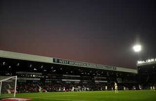 West Brom's home ground, The Hawthorns