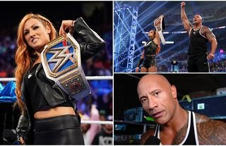 Becky Lynch says she wants to be bigger & better than The Rock