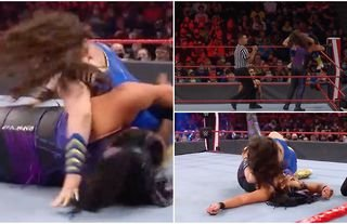 Botch during WWE Raw match leaves fans rather confused