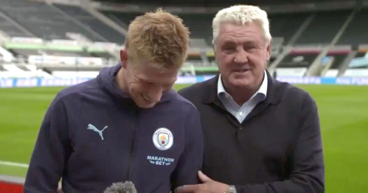 When Steve Bruce interrupted interview to 'announce' Kevin De Bruyne was joining Newcastle