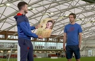 Declan Rice and Jack Grealish react to their FIFA 22 ratings
