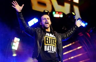 Adam Cole on the reports of his being a manager on the WWE main roster