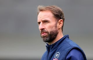England manager Gareth Southgate has admitted the men's national team set-up does not have enough female staff