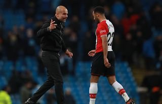 What did Pep Guardiola say to Nathan Redmond?