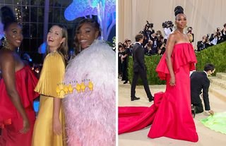 Venus Williams offered an explanation for an unexpected photograph of herself, her sister Serena Williams and former tennis player Maria Sharapova at this year's Met Gala.