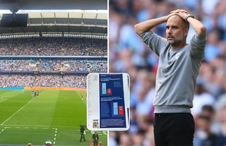 Manchester City criticised for new match day program feature