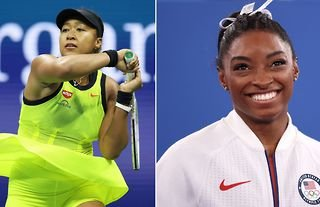 Simone Biles and Naomi Osaka were among the sportswomen to be named on Time's 100 most influential people list