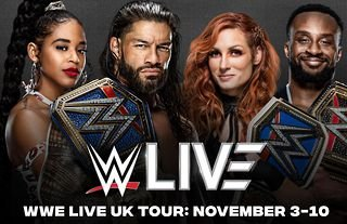 WWE has announced another tour of the UK for November