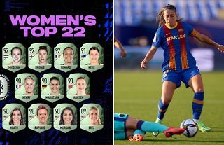 Spanish midfielder Alexia Putellas had a hilarious response after she discovered she was not included in the top 22 female footballers on FIFA 22