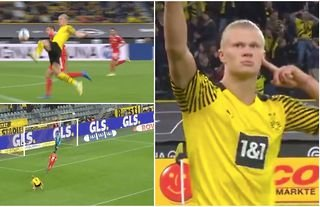 What a goal by Erling Haaland!