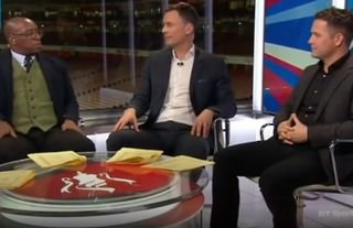Ian Wright vs Chris Sutton and Michael Owen in 2017