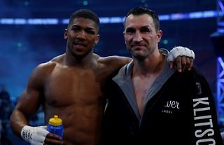 What happened to Wladimir Klitschko after he lost to Anthony Joshua?